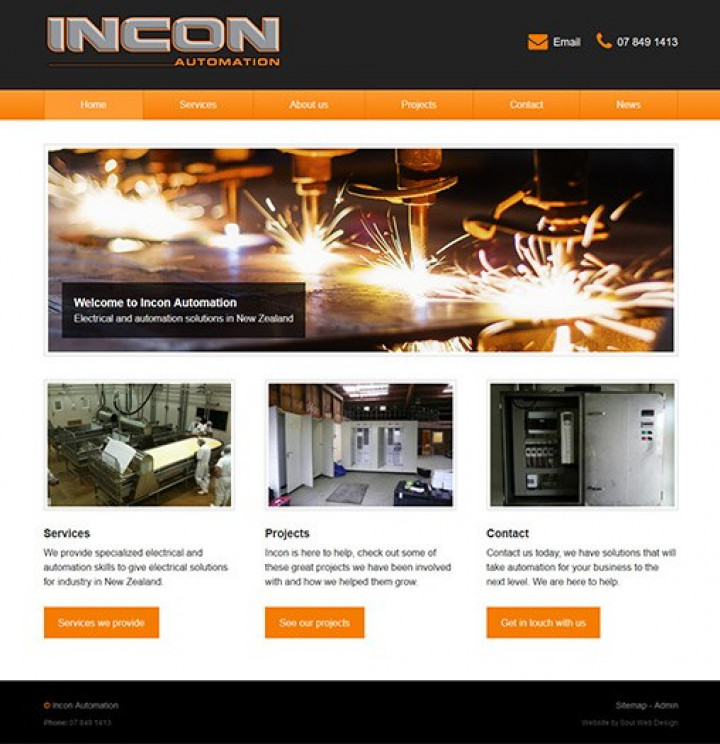 incon automation website